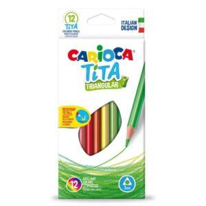 Farveblyanter fra Carioca - Brudsikre og robuste farveblyanter til børn
