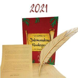 Julemandens Flaskepost 2021 - 24 personlige nissebreve skrevet til dit barn