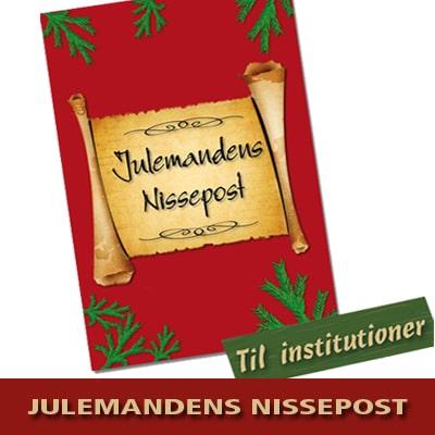 Julemandens Nissepost - Personlige nissebreve til dagplejere, børnehaver og skoleklasser