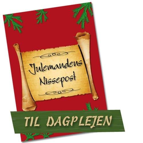 Nissebreve til dagplejen - Julemandens nissepost er personlige nissebreve til brug i dagplejen