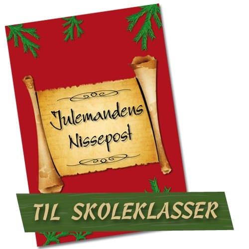 Nissebreve til skoleklasser - Julemandens nissepost er personlige nissebreve til brug i skoleklasser