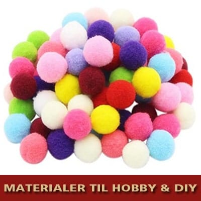 Materialer til hobby & DIY for børn og voksne