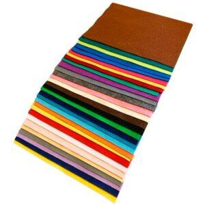 Filt i A4 - Hobbyfilt 1 mm i A5 og i 30 flotte farver