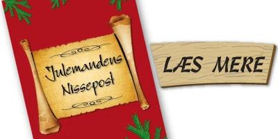 Julemandens Nissepost - Personlige nissebreve til dagplejen, børnehaver og skoleklasser