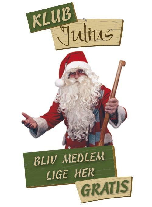 Klub Julius - En medlemsklub fra Julemandens værksted